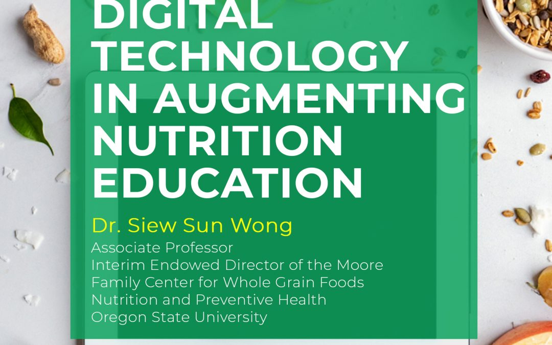 Digital Technology in Augmenting Nutrition Education