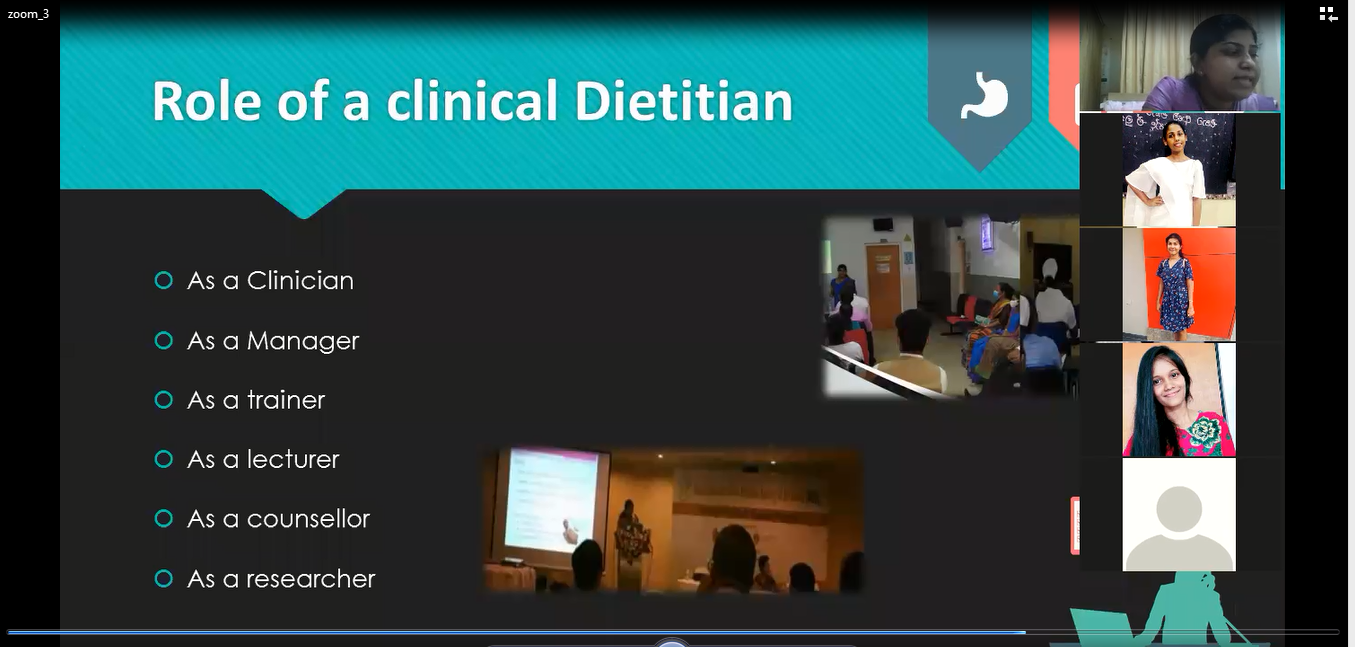 How to Serve as A Role-Model and an Expert of Nutrition and Dietetics