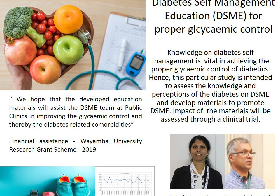 Diabetes Self Management Education (DSME) for Proper Glycaemic Control