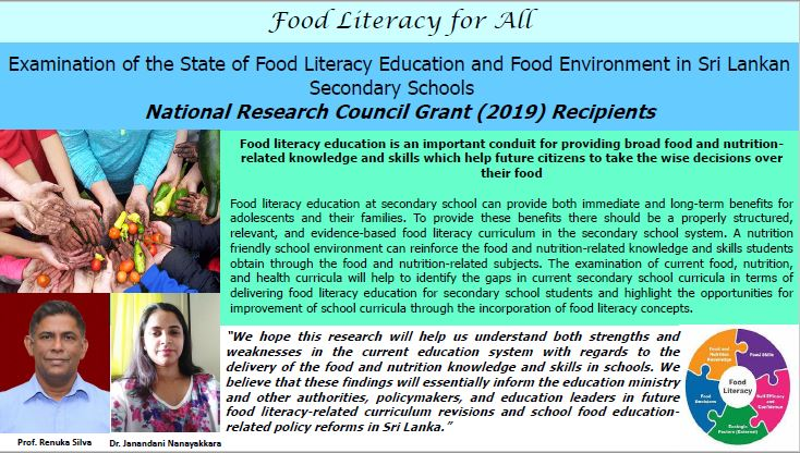 Food Literacy for All