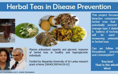 Herbal Teas in Disease Prevention