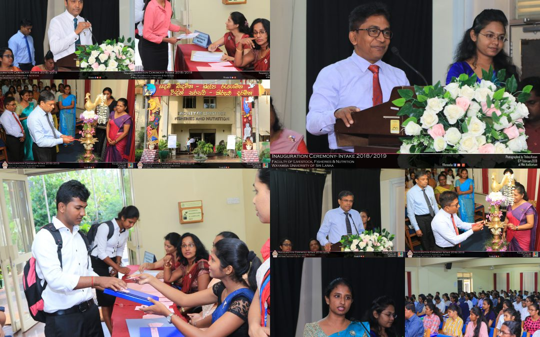 Inauguration Ceremony and Orientation Program