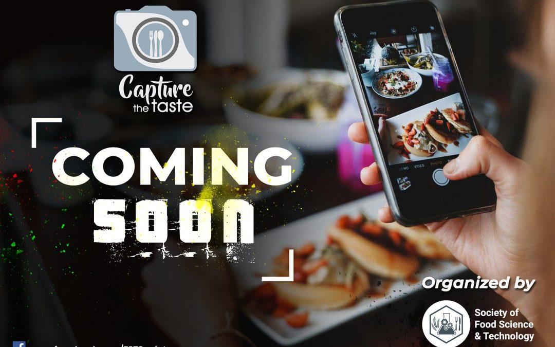 Capture the taste