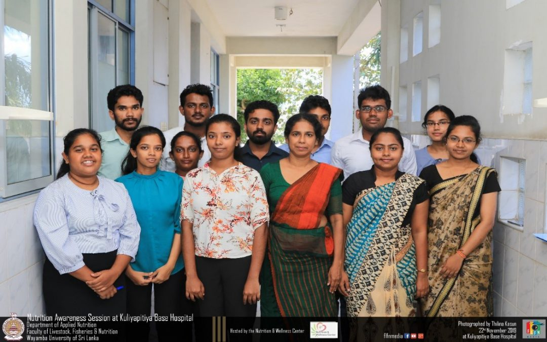 The 'Nutrition Assessment and Counseling Program' Conducted by the Department of Applied Nutrition at Kuliyapitiya Teaching Hospital