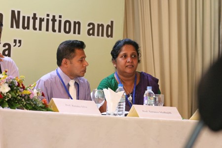 The Department of Applied Nutrition at the 5th Annual Sessions of Dietitians' Association (DiASL)